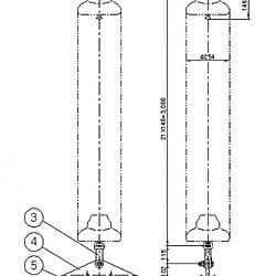 점퍼지지 애자장치(2B, 12Ton)